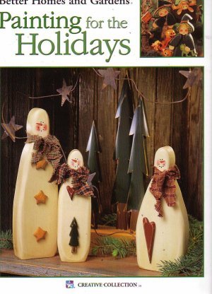 Better Homes and Gardens painting for the holidays