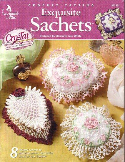 Crocheting Tatting Exquisite Sachets
