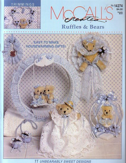 Mccalls Creates Ruffles and bears