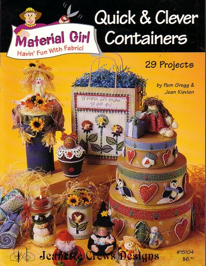 Quick and clever containers