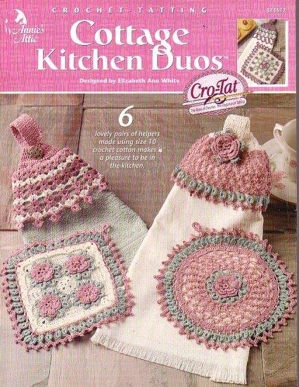 Crochet Tatting Cottage Kitchen Duos
