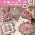 Crochet Tatting Cottage Kitchen Duos