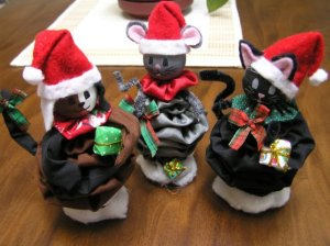 All three Christmas Yoyo wood doll Ebooks