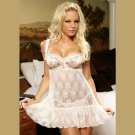 2 Piece LACE BABY DOLL  SIZES: S-M-L-XL  #DL1121 Women's Lingerie