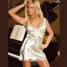Sexy  CHARMEUSE CHEMISE  SIZES: S-M-L-XL  #DL1041 Women's Lingerie