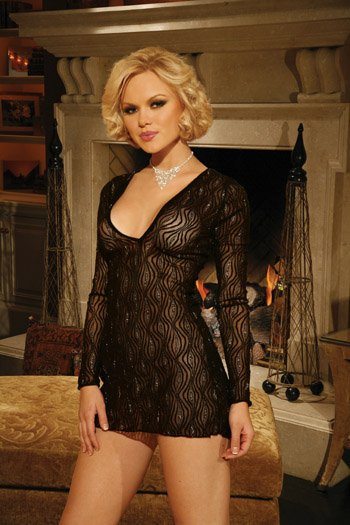Sparkle Lace MINI DRESS #DLG2008  Women's Lingerie
