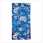 Blue Hyacinth Beach Towel
