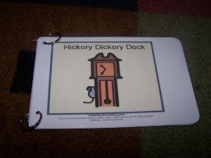 Hickory Dickory Book autism pecs speech pre k