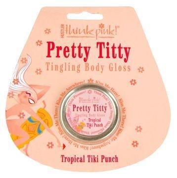Think Pink! Pretty Titty Body Gloss