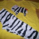 Sweet Potatoes Zebra 2pc Set sz 5