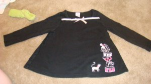 Gymboree City Sidewalker Top sz 4