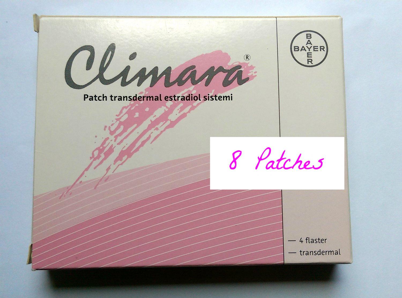 Climara Estradiol Estrogen 8 patches Transgender Male Female Hormone Replacement
