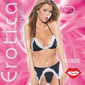 Sexy Naughty French Maid 3 pc Exotic Costume