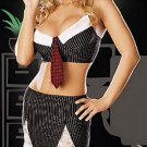 Exotic Sexy Naughty Secretary Adult Costume