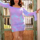 Long Sleeve Off Shoulder Dress Plus Size 1X-8X