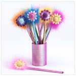 Sparkly Flower Pens(33125)