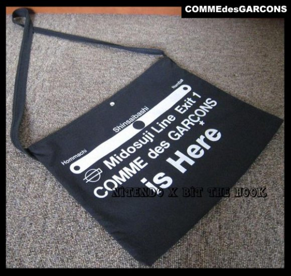 COMME des GARCONS 10 corso como 08S/S Tote Bag