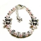Adorable Teddy Bear Child Bracelet