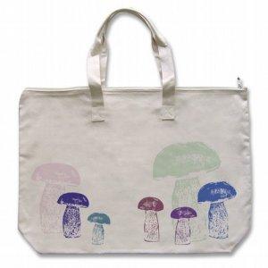 Multi color mushrooms Tote Bag