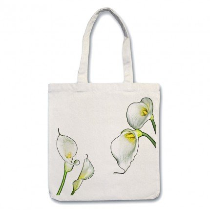 Flower Lilly tote Bag
