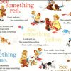 Dick & Jane See Something on White Retro Fabric 1 3/8+ Yard by Michael Miller