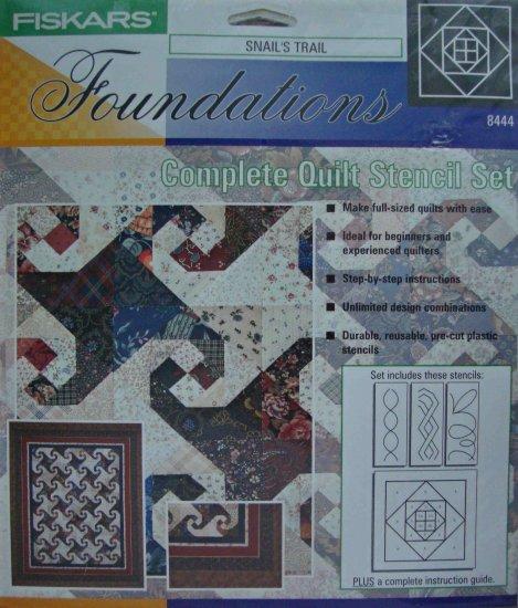 Fiskars Snail S Trail 8444 Quilt Stencil Set Pattern