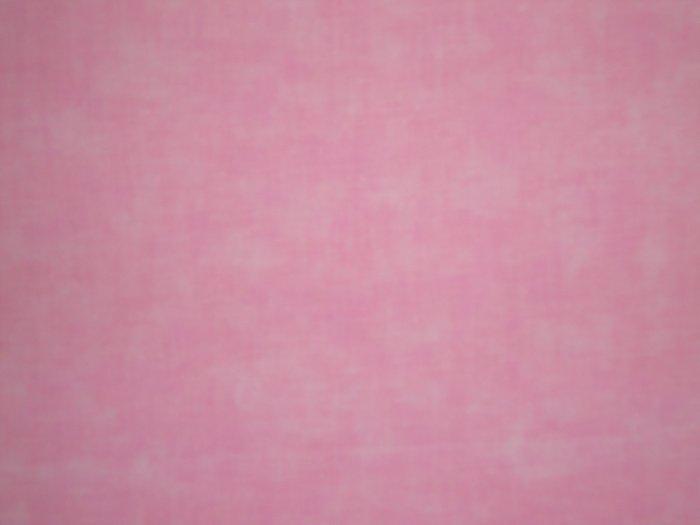 Santee Blender Light Baby Pink Mottled Cotton Fabric Fat Quarter FQ
