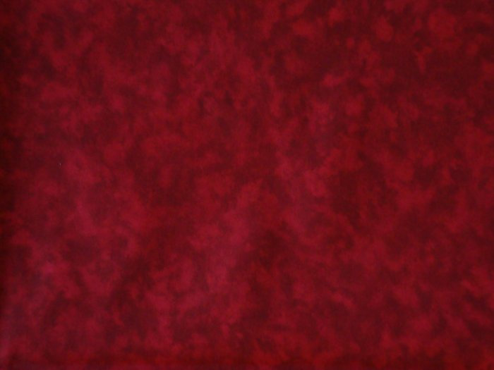 Santee Blender Red Mottled Marbled Cotton Quilt Fabric Per 1/2 Yd