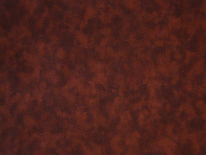 FQ Santee Blender Burnt Orange Marbled Mottled Cotton Quilt Fabric Fat Quarter