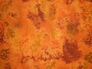 LAST PIECE! Timeless Treasures Dark Gold Brown Tie Dye Cotton Quilt Fabric 7/8 Yard Bolt End