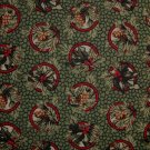 F8 Thimbleberries Quilt Club Holly Berry & Pine Cone Tassel Circles RJR Fabric Fat Eighth F8th