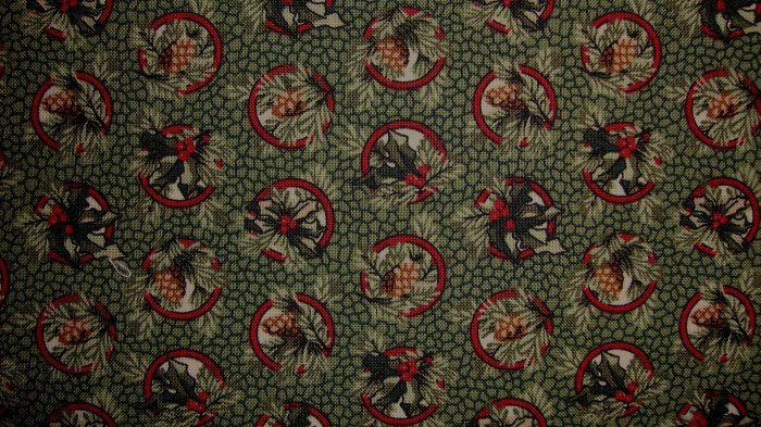 Fq Thimbleberries Quilt Club Holly Berry Amp Pine Cone