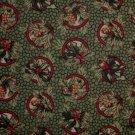 FQ Thimbleberries Quilt Club Holly Berry & Pine Cone Tassel Circles RJR Quilt Fabric Fat Quarter