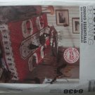 McCall Home Decorating Vintage Holiday Pattern 8438 Tablecloth Table Runner Placemats Napkin OOP