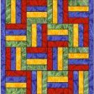 Quilter's Split Rail Quilt Block Bookmark Book Mark Great Gift!