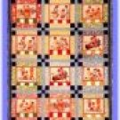 American Jane Let's Pretend Kids or Lap Quilt Top Pattern #219 by Sandy Klop