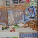 Simplicity Daisy Kingdom Nursery Quilt Sheet Ruffle Bumper Valence Stacker Wallhanging Pattern 2279