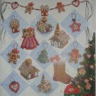 Simplicity Gingerbread Man House Cookie Ornament Garland Treeskirt Swag Stocking Church Pattern 2545