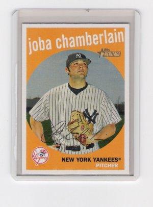 Joba Chamberlain 2008 Topps Heritage
