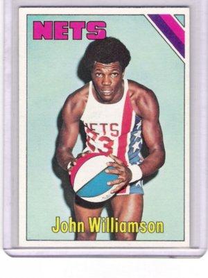 John Williamson Nets 1975-76 Topps  # 251