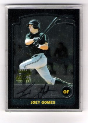 Joey Gomes 03 Bowman Chrome Autograph RC