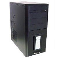 PowMax 11 Bay ATX Case w/400W PSU - Black