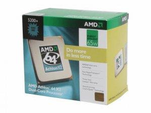 AMD Athlon 64 X2 Dual-Core Processor 5200+ (2.7GHz) AM2
