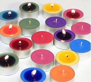 One Dozen Non-Scented Tea Light Candles