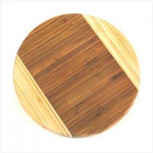 Round Bamboo Cutting Board