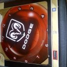 DODGE Ram Tin Wall Clock...Brand new
