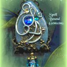 Tolkien Jewelry/ MALLORN TREE MOON FAIRY/ Pendant/ Pendulum/ Spell Bound Gems(tm)/ Enchanted/