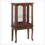 #35038 Simply Elegant Curio Cabinet