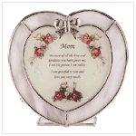#33745 Heart Candleholder For Mom