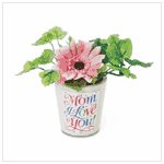 #36635 Mom I Love You Mini Flower Pot